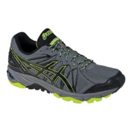 ASICS Men's GEL-Fuji Trabuco™ 3 Trail Running Shoes - Grey/Yellow