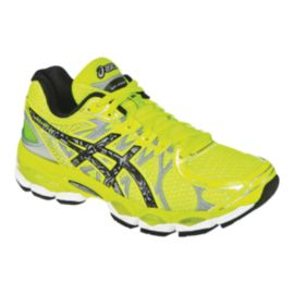 ASICS Women's Gel Nimbus 16 LS Running Shoes - Yellow/Black/Silver