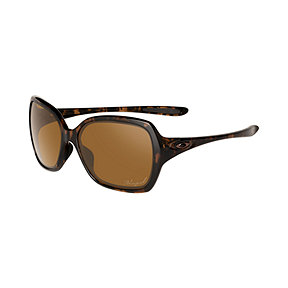 Oakley Overtime Polarized Sunglasses - Tortoise with Bronze Lenses