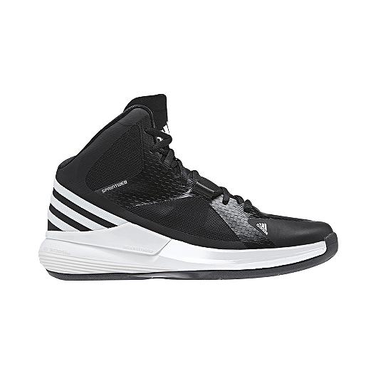 d7a06cb5b8d94 adidas Women's Crazy Strike Basketball Shoes - Black/White