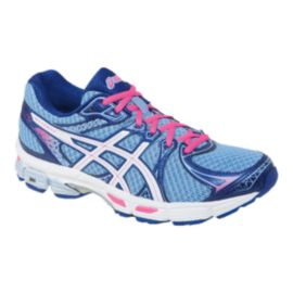 ASICS Women's Gel Exalt 2 Running Shoes - Blue/Pink