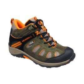 Merrell Chameleon Mid Kids' Waterproof Multi-Sports Shoes Grade-School