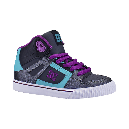 ffec565aff52 DC Spartans High Skate Shoes Grade-School Girls