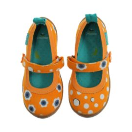 Chooze Dance in BeGood Orange Girls' Toddler Casual Shoes