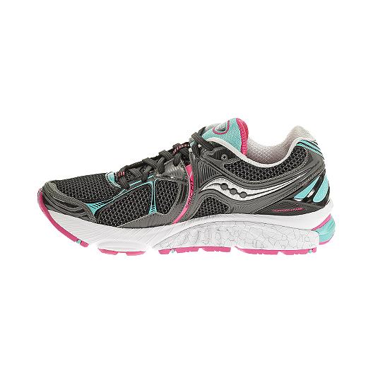 f68568d6 Saucony Women's PowerGrid Hurricane 16 Running Shoes - Black/Blue ...