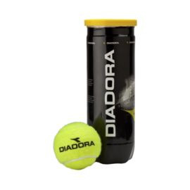 Diadora Match Tennis Balls - 3 Ball Pack
