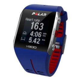 Polar V800 GPS Sports Watch with Heart Rate - Blue/Red