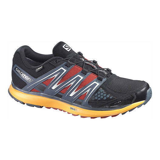 new product d26ec 2d4ee Salomon Men s X-Scream GTX® Trail Running Shoes - Black Yellow Red   Sport  Chek