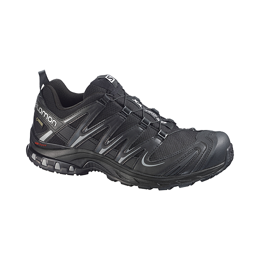 newest 264e5 91d0b Salomon Men s XA Pro 3D GTX Trail Running Shoes - Black Silver   Sport Chek
