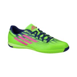 adidas Men's Freefootball Speedtrick Indoor Soccer Shoes - Green/Blue/Pink