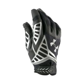 Under Armour Nitro Warp Football Gloves - Black