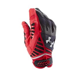 Under Armour Nitro Warp Football Gloves - Red