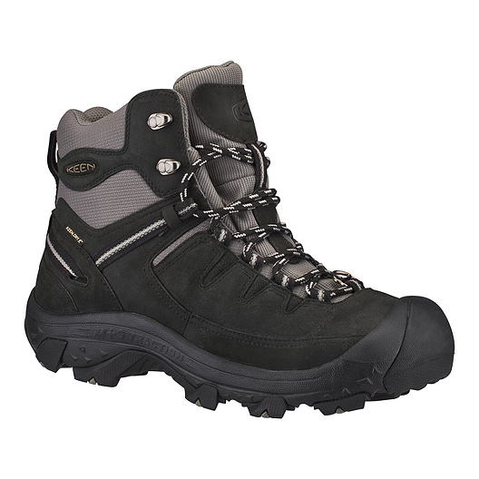 3b7911e0a5b Keen Men's Delta Hiking Boots - Black/Grey | Sport Chek