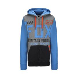 Fox Blockage Men's Full Zip Hoody