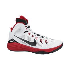 Nike Men s Hyperdunk 2014 Basketball Shoes - White Red Black  31fb9d219