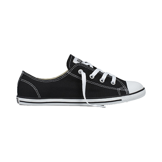 Converse Women's CT All Star Dainty Ox Shoes - Black/White
