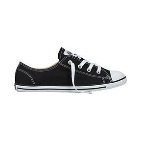 453b840d8d67f Converse Women s CT All Star Dainty Ox Shoes - Black White