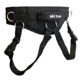 Ski Ties Ultimate Kids' Ski Harness 16/17 - Black