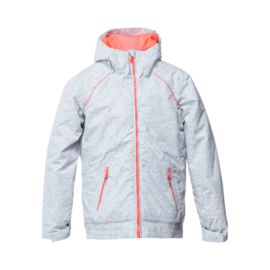 Roxy Girls' Valley Hooded Insulated Jacket