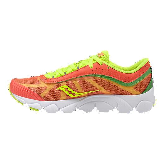 619fef5f6eb21 Saucony Women's Grid Virrata Running Shoes - Orange/Green | Sport Chek