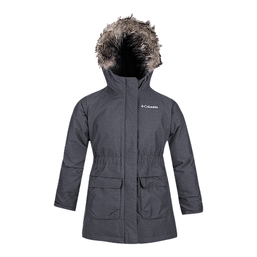 00d5518a Columbia Girls' Nordic Strider Omni-Heat™ Long Insulated Winter Jacket |  Sport Chek