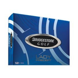 Bridgestone Lady Precept Golf Balls - 12 Pack White