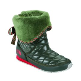 The North Face Women's Thermoball Roll Down Bootie Winter Boots - Green