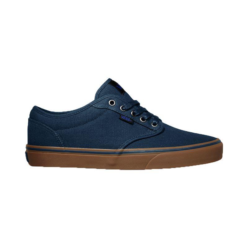 Vans Men's Atwood Skate Shoes - Navy/Gum