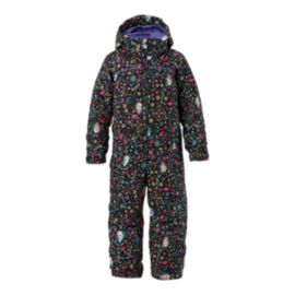 "Burton Toddler Girls' 4-6X ""Frozen"" Minishred Illusion One Piece Snowsuit"