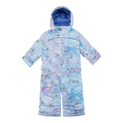 Burton Toddler Girls' 4-6X ''Frozen'' Minishred Illusion One Piece Snowsuit