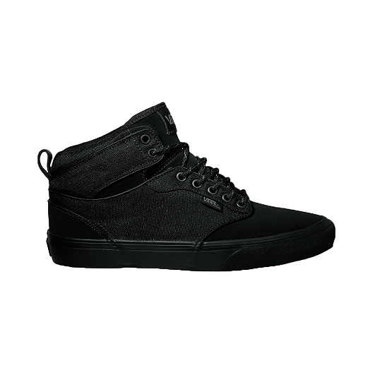 9cd47d5169 Vans Men s Atwood Hi Skate Shoes - Black