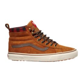 Vans Men's Classics SK8-HI MTE Skate Shoes - Glazed Ginger