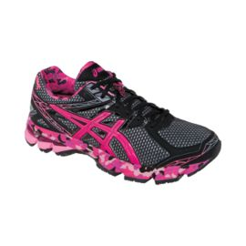 "ASICS Men's GT 1000 3 ""Pink Ribbon"" Running Shoes - Blue/Pink"