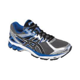 ASICS Men's GT 1000 3 Running Shoes - Dark Grey/Blue/Silver
