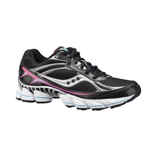 48e60b59 Saucony Women's Grid Hybrid 3 Run Dry Trail Running Shoes - Black ...