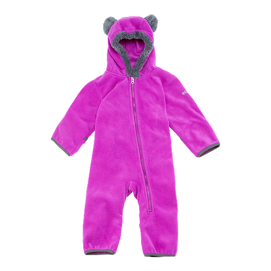 929a3718f853fa Columbia Baby Girls  Tiny Bear Bunting Snow Suit