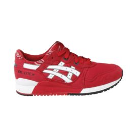 ASICS Men's Gel-Lyte 3 Casual Shoes - Red/White