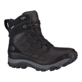 The North Face Men's Chilkat Leather Insulated Winter Boots - Black