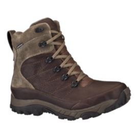 The North Face Men's Chilkat Leather Insulated Tall Winter Boots - Brown