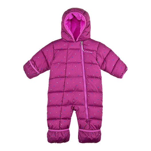 98690b002d2d Columbia Baby Girls  Frosty Freeze Bunting Snow Suit