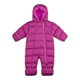 Columbia Baby Girls' Frosty Freeze Bunting Snow Suit