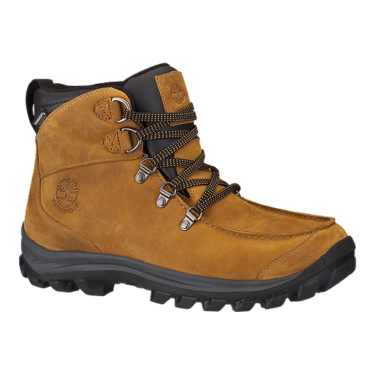 1a63beb3078 Timberland Men's EK Chillberg Mid WP Winter Boots - Light Brown/Black