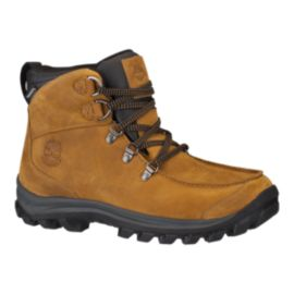 Timberland Men's EK Chillberg Mid WP Winter Boots - Light Brown/Black