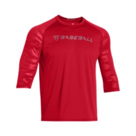 Under Armour CTG 3/4 Sleeve Top - Red
