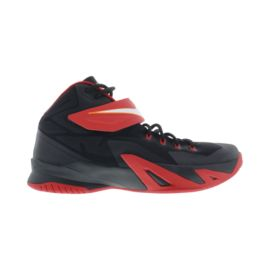 Nike Men's Zoom Soldier 8 Basketball Shoes - Black/Red/White