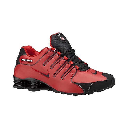 553fdd7ef07 Nike Men s Shox NZ Shoes - Red Black