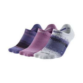 Nike Dri-FIT™ Graphic No Show Women's Socks - 3 Pair Pack