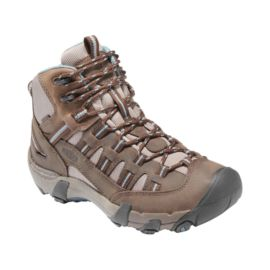 Keen Women's Alamosa Mid WP Lite-Hiking Shoes - Brown/Blue