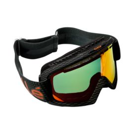 Bollé Nova II Adult Snow Goggles - Carbon with Fire