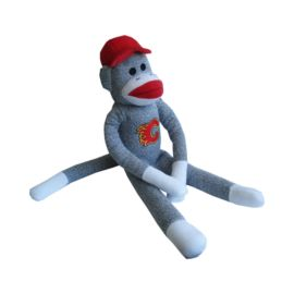 Calgary Flames Sock Monkey